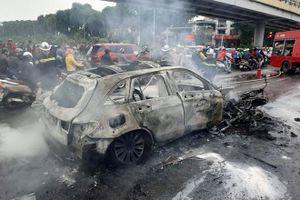 Chiếc xe Mecrcedes GLC gây tai nạn khiến một người chết mới chỉ mua được ít ngày