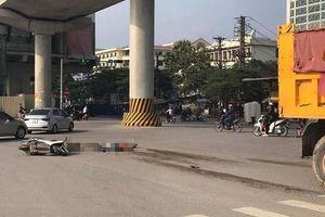 Hai ông cháu tử vong sau va chạm với xe tải ngay gần Đại học Công nghiệp