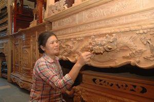 Làng nghề gỗ Đồng Kỵ: Chủ động hội nhập