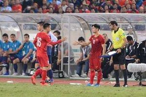 HLV Park Hang Seo lý giải quyết định thay Hùng Dũng bằng Công Phượng