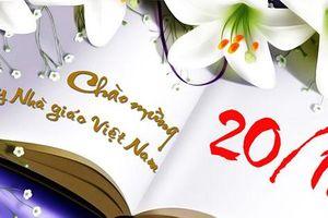 Những lời chúc ngắn gọn ý nghĩa tặng thầy cô ngày Nhà giáo Việt Nam 20/11
