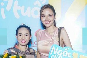 Hoa hậu Diễm Hương gây hoang mang vì gương mặt khác lạ