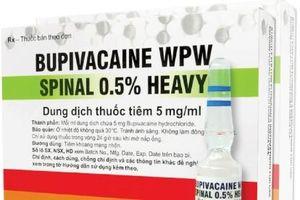 Quảng Nam: Tạm thời ngừng sử dụng thuốc gây tê do Ba Lan sản xuất