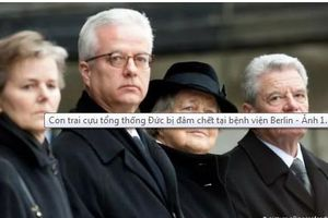 Con trai cố tổng thống Đức bị người lạ mặt sát hại