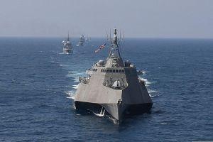 Mỹ triển khai tàu chiến LCS ở Biển Đông để 'uốn nắn' Trung Quốc