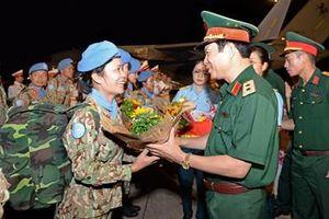 Bệnh viện Dã chiến cấp 2 số 1 của Việt Nam hoàn thành nhiệm vụ về nước đợt 1