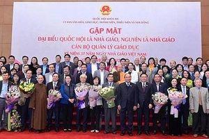 Chủ tịch Quốc hội Nguyễn Thị Kim Ngân: 'Ở bất cứ hoàn cảnh nào, các thế hệ nhà giáo Việt Nam vẫn hoàn thành xuất sắc sứ mệnh cao cả của mình'