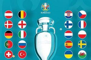 20 đội bóng chính thức giành vé tham dự vòng chung kết Euro 2020