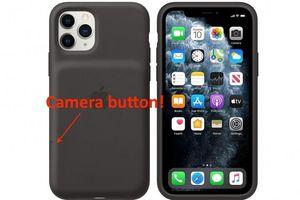 Apple ra mắt ốp lưng cho iPhone 11 có thêm nút kích hoạt camera