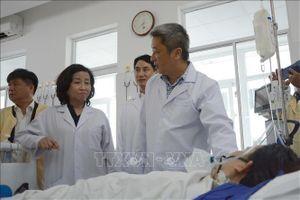 Thứ trưởng Bộ Y tế thăm sản phụ nguy kịch nghi do sử dụng thuốc gây tê