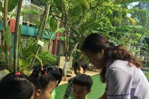 Niềm vui của giáo viên mầm non là giúp trẻ sáng tạo, hạnh phúc hơn