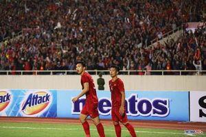Việt Nam lọt vào top 3 đội tuyển có sức hút nhất châu Á
