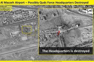 Israel tung bằng chứng Syria thiệt hại nặng sau vụ không kích