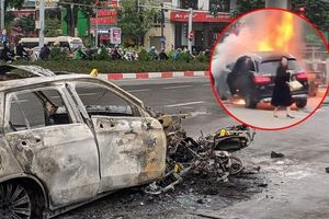 Tạm giữ hình sự nữ tài xế lái Mercedes GLC 250 gây ra vụ tai nạn thảm khốc khiến cô gái tử vong thương tâm