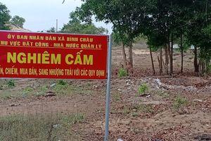 Hàng trăm ha đất công bị lấn chiếm vì chính quyền thiếu trách nhiệm