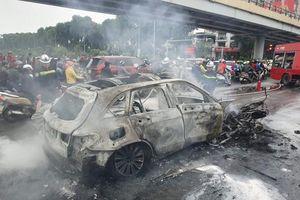 Tạm giữ hình sự nữ tài xế lái Mercedes gây tai nạn liên hoàn khiến 1 người chết
