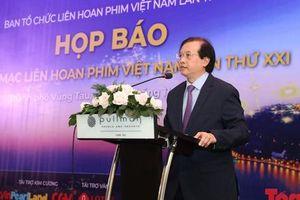 Hé lộ Lễ khai mạc và Bế mạc Liên hoan phim Việt Nam lần thứ XXI