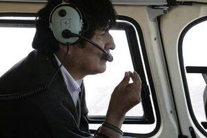 Cựu TT Bolivia tiết lộ bị tướng quân đội ám sát hụt trên trực thăng