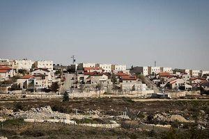 Anh 'thách thức' Mỹ, kêu gọi Israel chấm dứt mở rộng khu tái định cư ở Bờ Tây