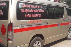 Chuyến xe cứu thương 0 đồng đưa bệnh nhân về quê miễn phí