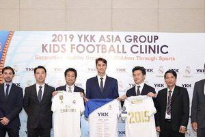 HLV Quỹ Real Madrid đào tạo 300 em nhỏ có hoàn cảnh đặc biệt tại Hà Nội
