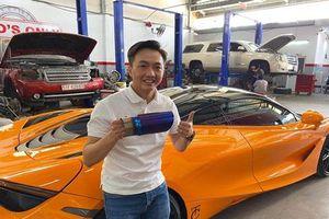 Cường Đô-la chi gần nửa tỷ đồng độ pô cho McLaren 720S