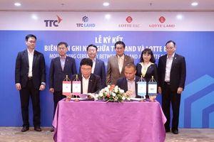 Lotte E&C đầu tư 100 triệu USD cùng TTC Land phát triển dự án