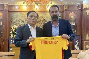 Cựu HLV tại AS Roma làm HLV trưởng CLB Thanh Hóa