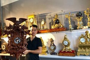Nâng niu giá trị thời gian từ thú chơi đồng hồ cổ