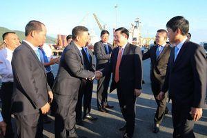 Phó Thủ tướng Vương Đình Huệ dự Diễn đàn Logistics 2019 và thăm cảng Tiên Sa