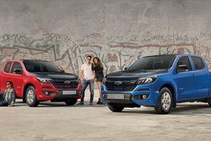 Lạ mắt Chevrolet Colorado bản gầm thấp như sedan, dành riêng cho 'dân chơi' nước bạn