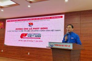 Thành đoàn Hà Nội phát động cuộc thi 'Tìm hiểu về Đảng Cộng sản Việt Nam'