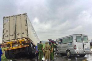 Nguyên nhân vụ tai nạn khiến 3 người chết, 10 người bị thương ở Quảng Ngãi