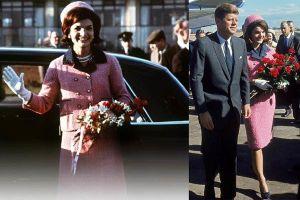 Ly kỳ số phận bộ váy vợ Tổng thống Kenedy mặc ngày chồng bị ám sát