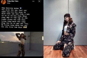Lisa (Black Pink) tung clip dance solo, Thiều Bảo Trâm có hành động đúng chuẩn fan cuồng