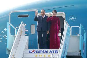 Thủ tướng bắt đầu chương trình tham dự Hội nghị Cấp cao ASEAN-Hàn Quốc