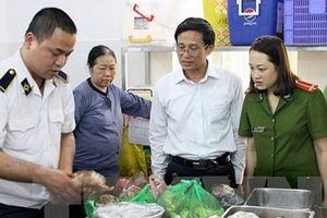 Hà Nội: Mở rộng thanh tra chuyên ngành về ATTP trên 30 quận, huyện