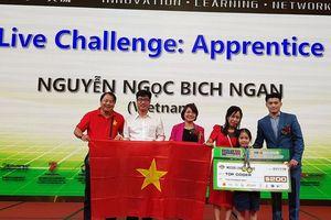 Việt Nam thắng lớn với 3 giải Vô địch thi lập trình WeCode quốc tế 2019