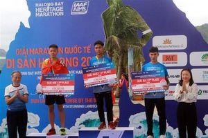 Hơn 3.000 vận động viên dự giải marathon quốc tế Di sản Vịnh Hạ Long