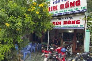 Táo tợn cướp tiệm vàng ở Long An