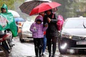 Thời tiết 25/11: Bắc và Trung Trung Bộ có mưa to và dông, đêm nay trời trở rét