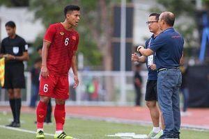HLV Park Hang-seo nổi cáu với cầu thủ U22 Việt Nam
