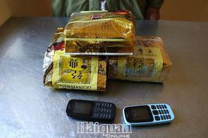 Biên phòng Nghệ An thu giữ 3 kg ma túy đá