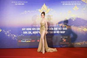 Dàn mỹ nhân trẻ tuổi xuất hiện tại Liên hoan phim Việt Nam lần thứ 21
