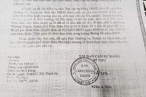 Mặc cấp dưới 'cảnh báo', tỉnh Điện Biên vẫn dồn dập ra văn bản tuân 'lệnh bài' của Phó Chủ tịch tỉnh?