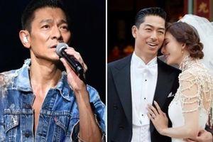 Không nhận được thiệp mời cưới, Lưu Đức Hoa 'ai oán' Lâm Chí Linh