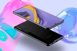 Chưa ấn định ngày ra mắt, Samsung Galaxy A71 lộ thiết kế cực ấn tượng