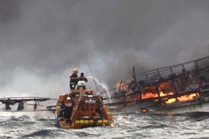 1 tuần vẫn chưa tìm thấy 6 thuyền viên Việt Nam mất tích tại Hàn Quốc