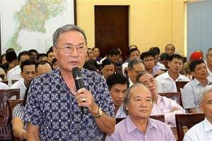 Lịch tiếp xúc cử tri của Đoàn đại biểu Quốc hội TP Hà Nội