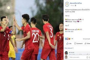 CĐV Thái Lan: 'Không nên chủ quan trước U22 Việt Nam'